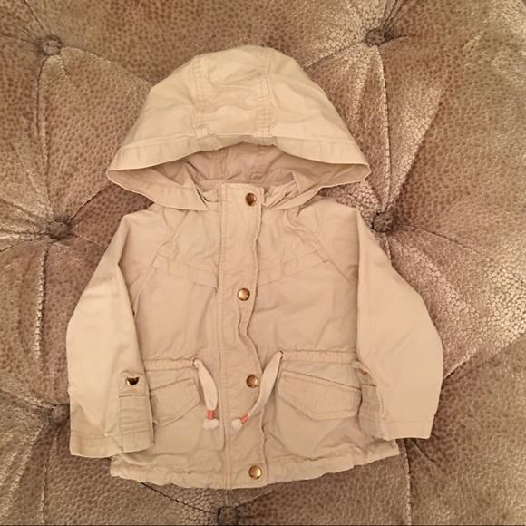 Zara Baby Girl Light Jacket. M 5a48903aa825a6ae2f1945ce af146682b